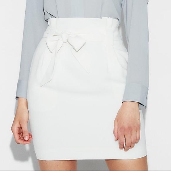 535ebc8e1 White Sash Tie Waist Skirt. Express. M_5b5ce2723e0caa5b376dfd4e.  M_5b5ce272e944ba4e64078dfe. M_5b5ce272619745d801e8d07c